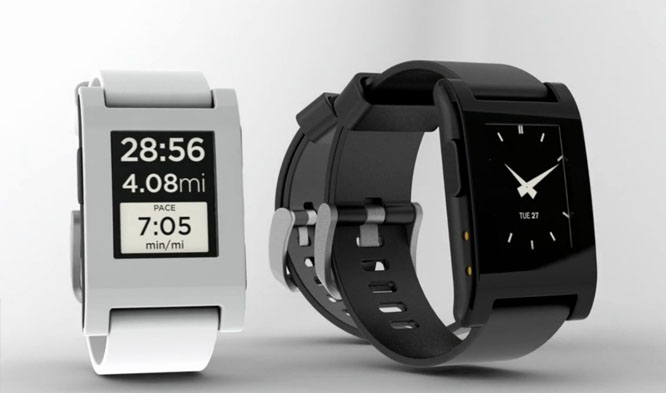pebble black white