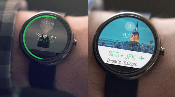 экран умных часов Moto 360