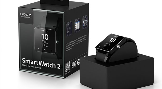 упаковка Sony SmartWatch 2