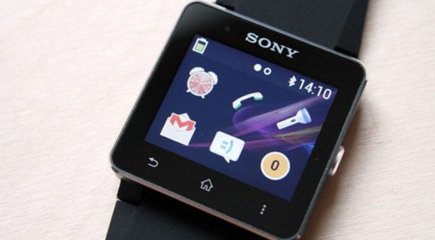 экран Sony SmartWatch 2