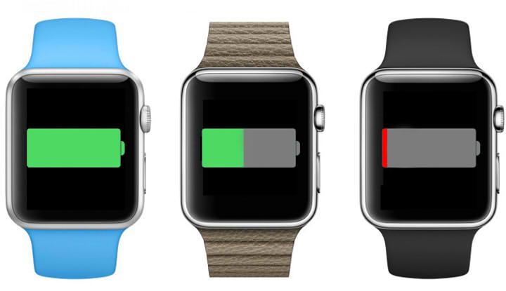 время работы apple watch