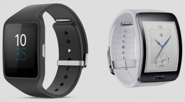samsung gear s vs sony smartwatch 3