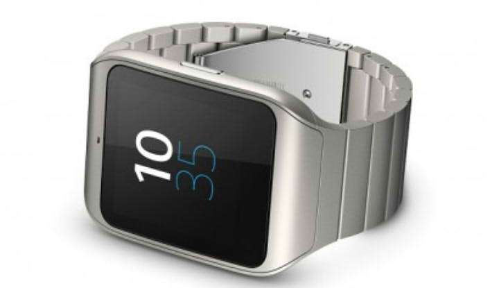 стальные Sony smartwatch 3