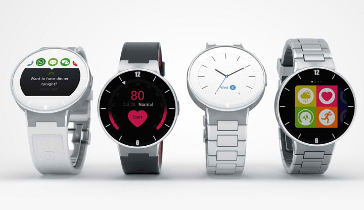 Alcatel OneTouch Watch обзор
