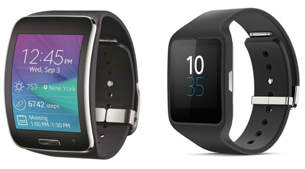 samsung gear s sony smartwatch 3 сравнение