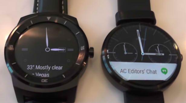 moto 360 lg g watch r умные часы