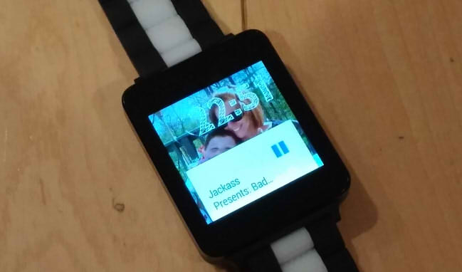 watch face android wear установка