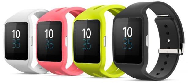 сравнение смарт часов sony smartwatch 3