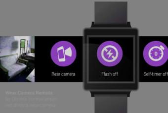 приложение для управления камерой с помощью умных часов