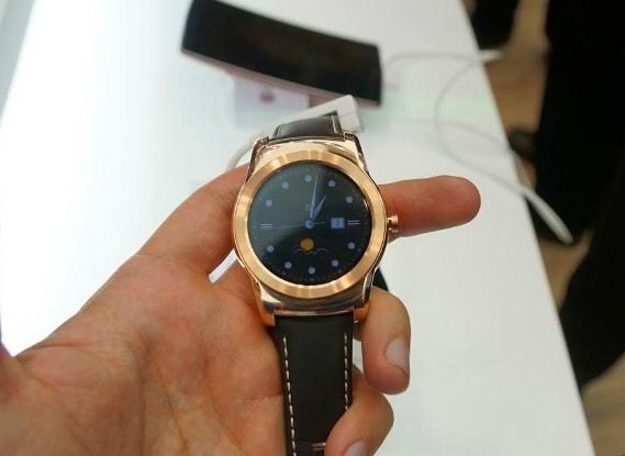 круглые китайские часы huawei watch