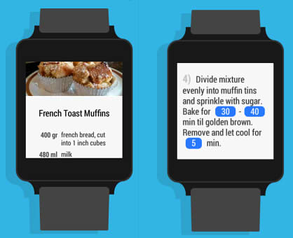 приложение для умных часов