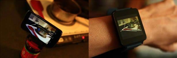 управление камерой умные часы