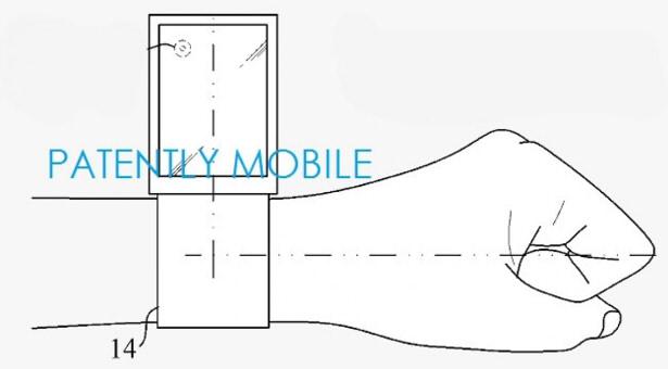 необычный движущийся дисплей Samsung