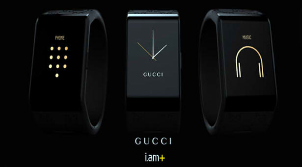 Gucci and will.i.am Smartband