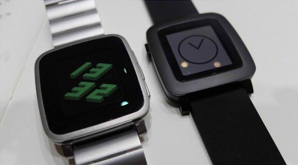 Pebble Time Steel умные часы