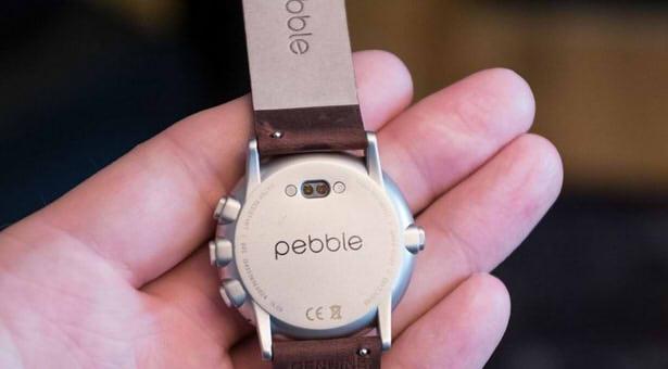 Pebble Time Round фото