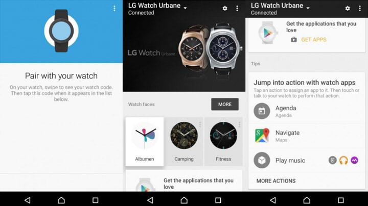 Android Wear установка