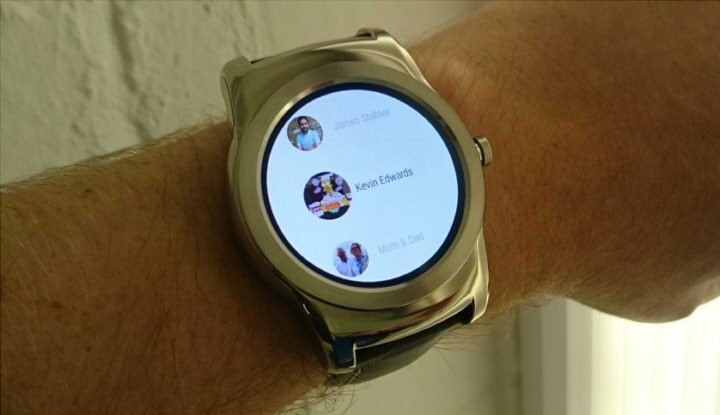 android wear часы