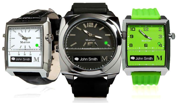 Martian Voice Command Envoy умные часы