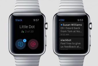 Приложение Slack для Apple Watch