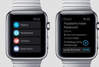 Приложение Find Near Me для Apple Watch