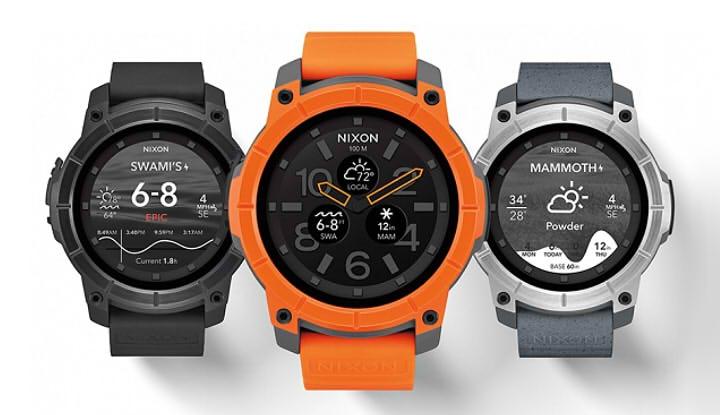 умные часы Nixon Mission