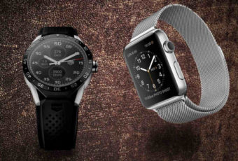 Apple Watch и Tag Heuer Connected