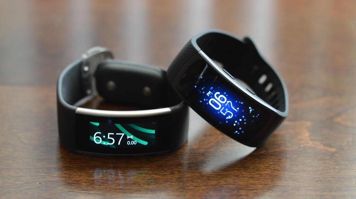Microsoft Band 2 и Samsung Gear Fit 2