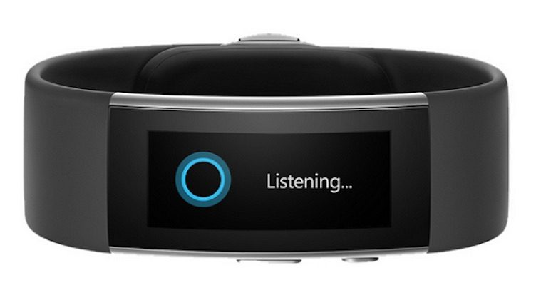 Microsoft Band 2 Cortana