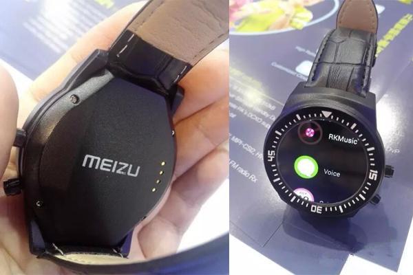 Предыдущие утечки фотографий умных часов Meizu