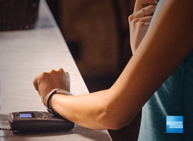 Jawbone UP4 contactless payment