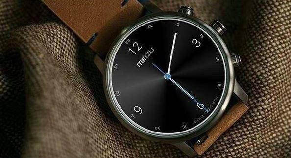 Meizu smartwatch brown
