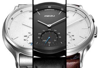 Первые умные часы Meizu Mix
