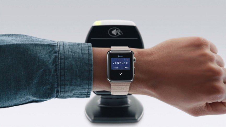 Apple Watch бесконтактные платежи