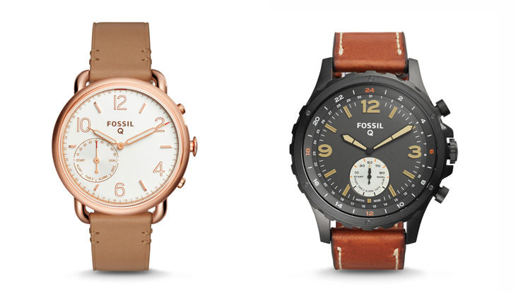 Fossil Q Wander и Fossil Q Marshal