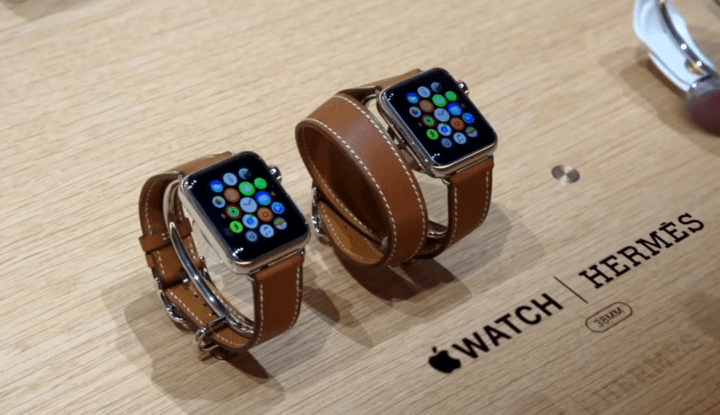 Apple Watch 2 с эксклюзивными ремешками Hermes
