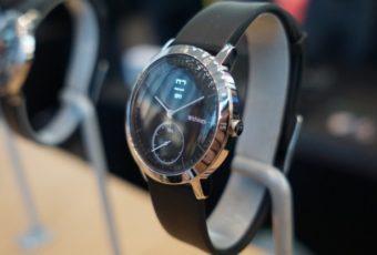 Умные часы Withings Steel HR с датчиком сердцебиения и E-ink экраном