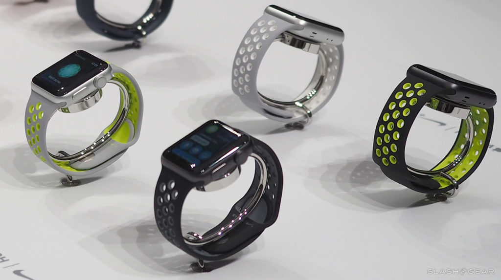 Цвета Apple Watch Nike+