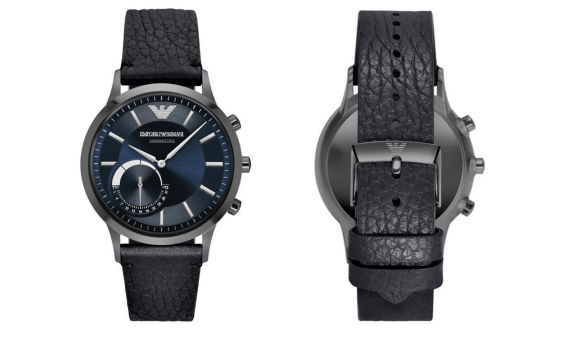 Гибридные часы от Emporio Armani