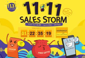 Грандиозная распродажа 11.11 на GearBest