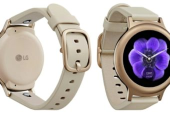LG Watch Style Rose Gold
