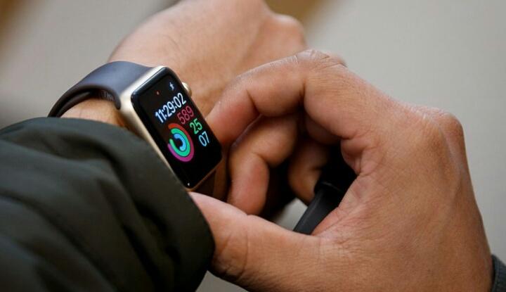 Новый тачскрин Apple Watch 3