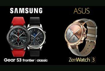 Сравнение лучших смартчасов Samsung и Asus.