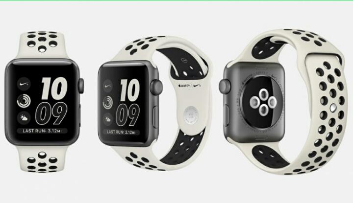 Новая модель смартчасов от Apple и Nike