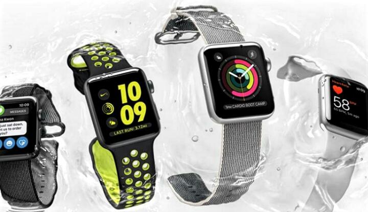 Сравнение часов Apple Watch - Series 1 и Series 2