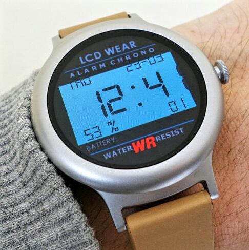 Retro LCD Wear