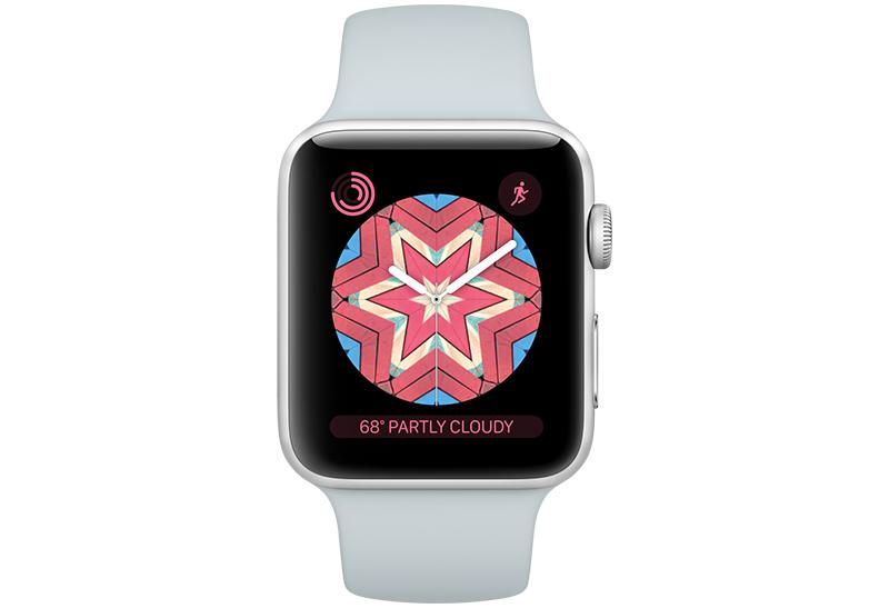 Циферблат Kaleidoscope в ОС WatchOS 4
