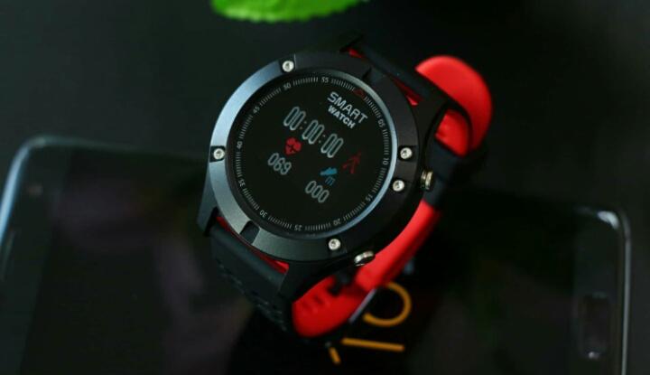 Новые смартчасы No.1 F5 с GPS и термометром