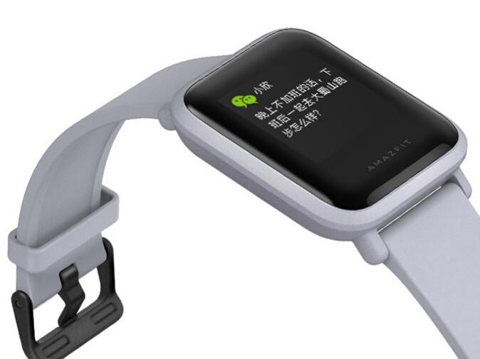 Xiaomi Amazfit BIP дисплей