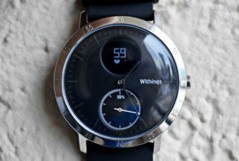 Обзор гибридных умных часов Nokia Steel HR (бывшие Withings Steel HR)
